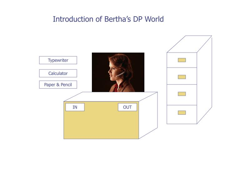 Introduction of Bertha's DP World