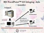 bd focalpoint gs imaging data transfer