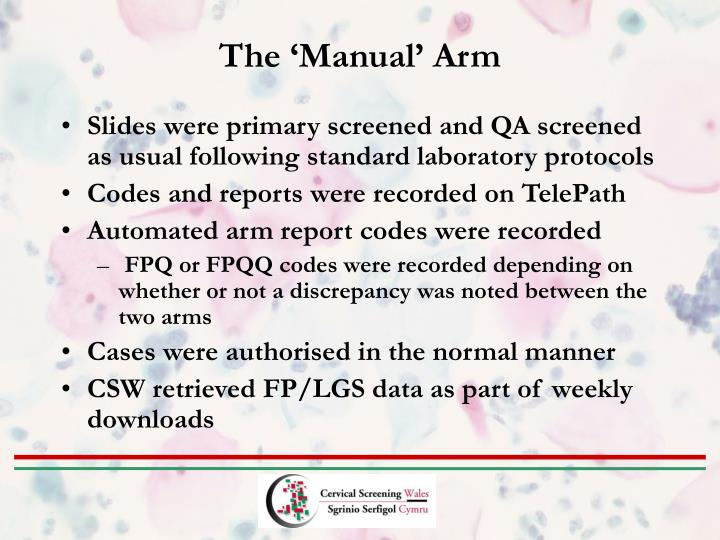 The 'Manual' Arm
