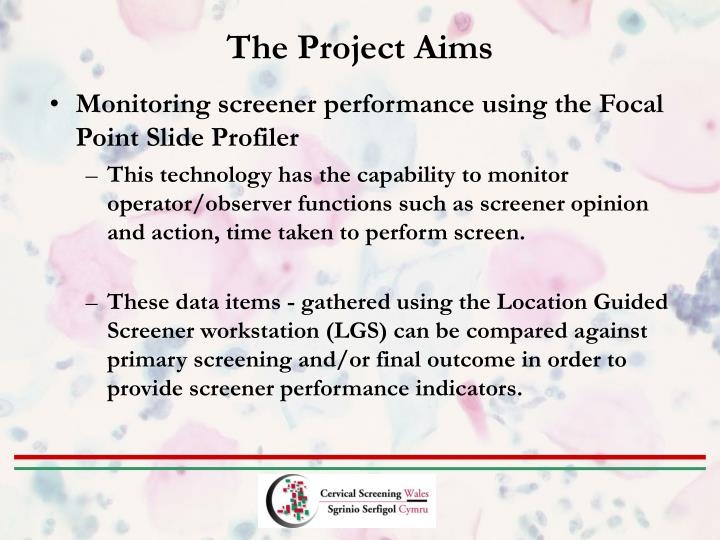 The Project Aims