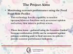 the project aims2