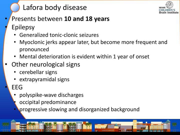 Lafora body disease