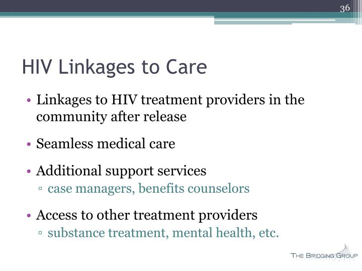 HIV Linkages to Care
