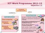 ict work programme 2011 12 objective 1 25