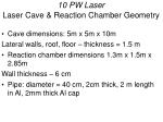 10 pw laser laser cave reaction chamber geometry