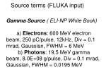 source terms fluka input