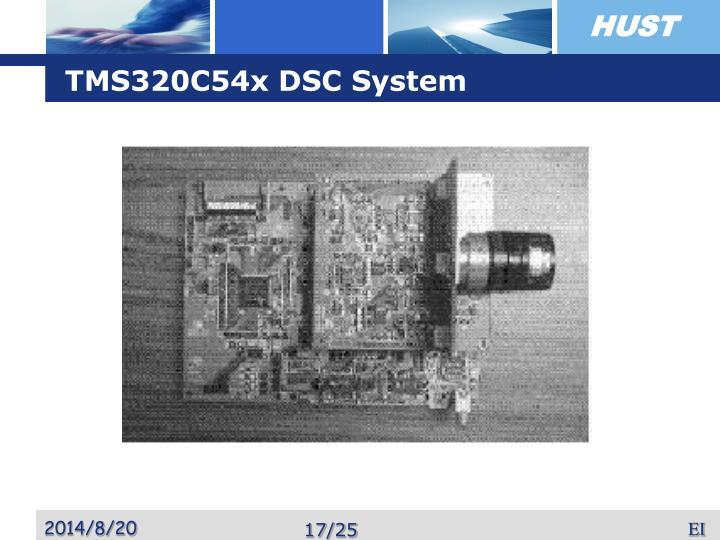 TMS320C54x DSC System