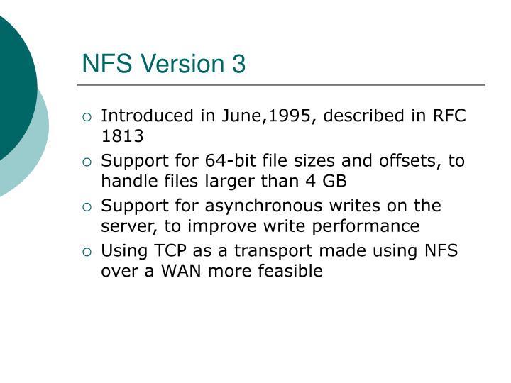 NFS Version 3