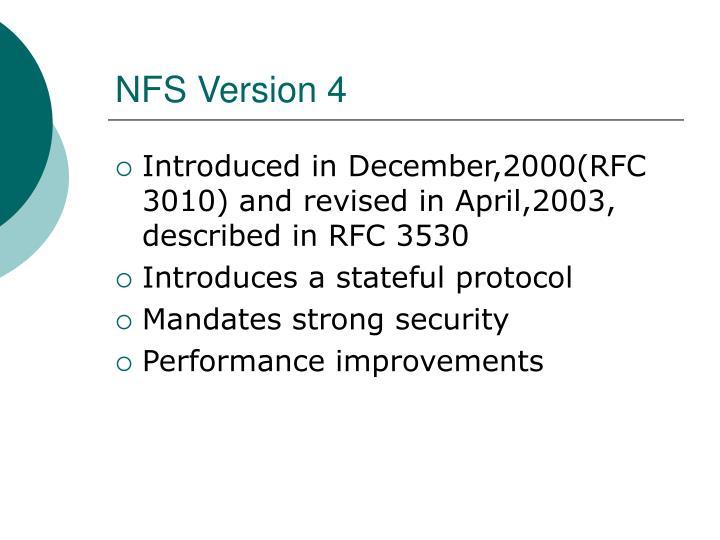 NFS Version 4