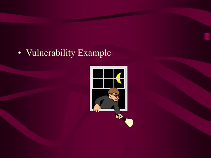 Vulnerability Example