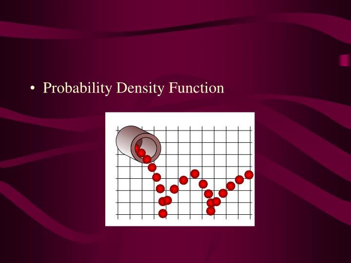 Probability Density Function