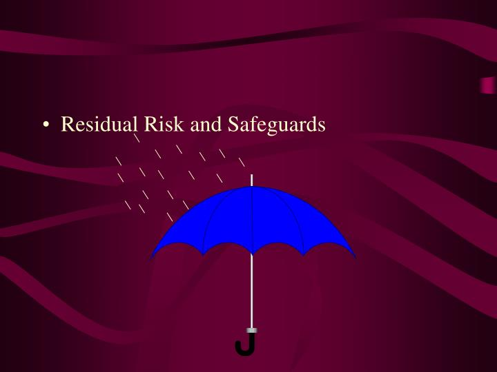 Residual Risk and Safeguards
