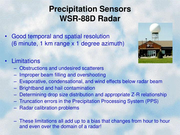 Precipitation Sensors