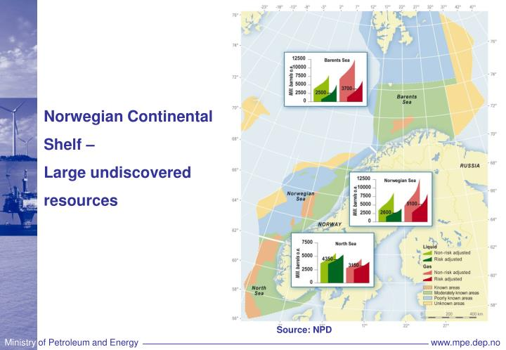 Norwegian Continental Shelf –