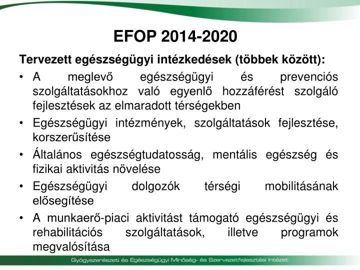 EFOP 2014-2020