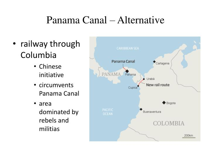 Panama Canal – Alternative