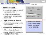 db2 10 virtual storage constraint relief