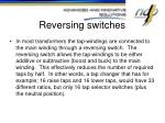 reversing switches