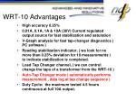 wrt 10 advantages
