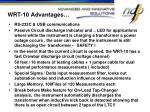 wrt 10 advantages1