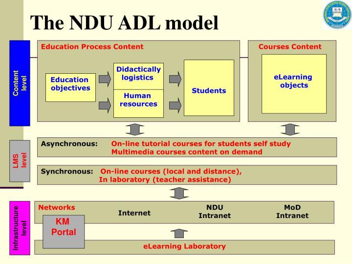 The NDU ADL model