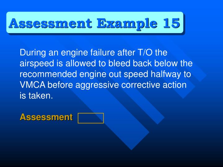 Assessment Example 15