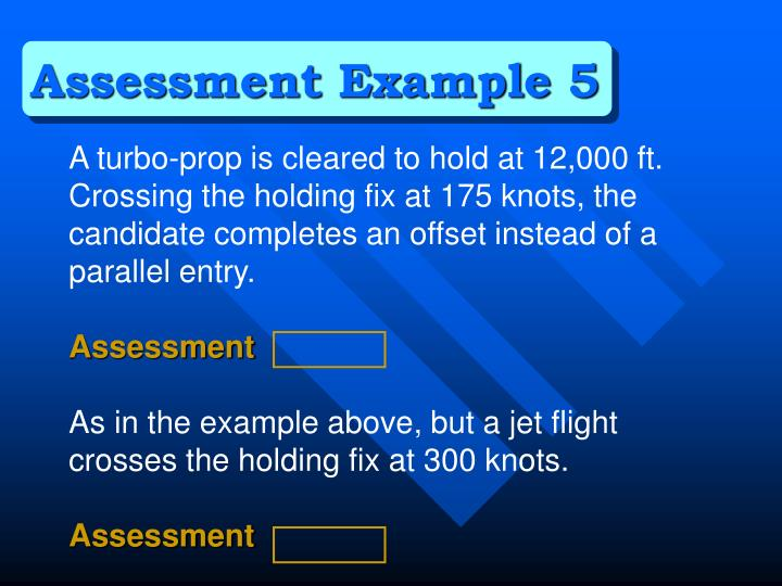 Assessment Example 5