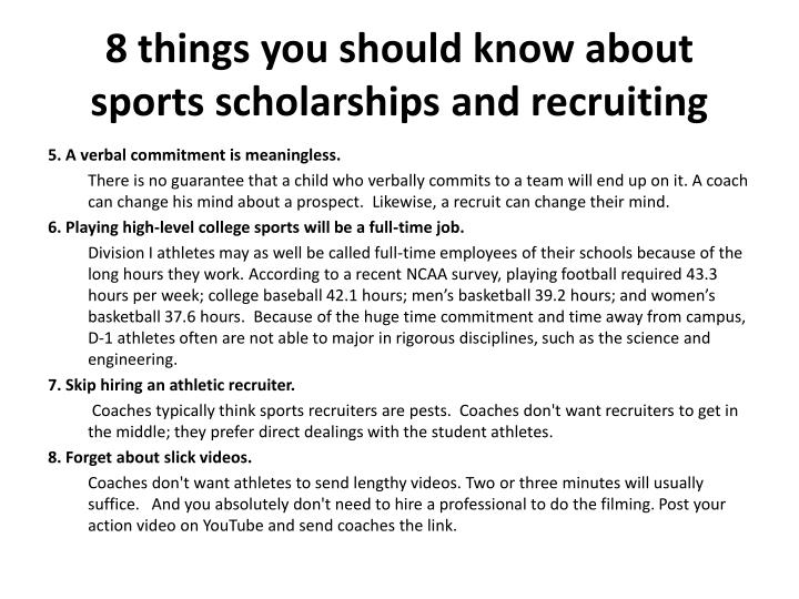 8 things you should know about sports