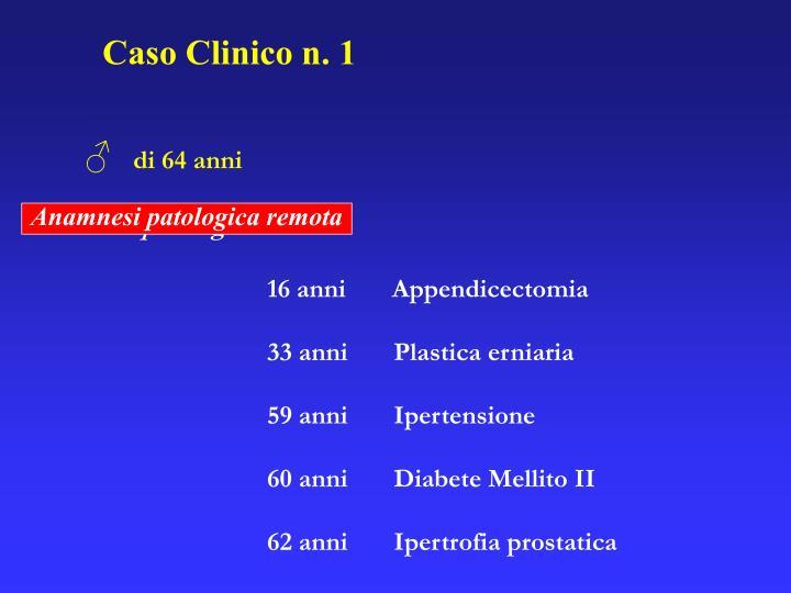 Caso Clinico n. 1