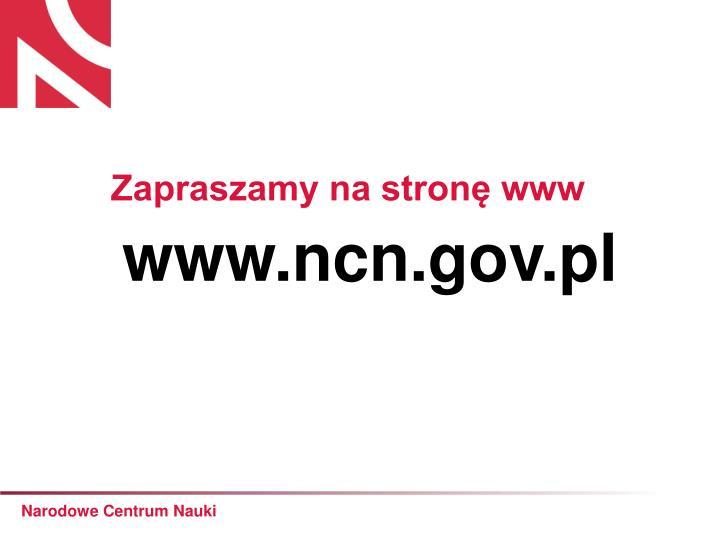 www.ncn.gov.pl