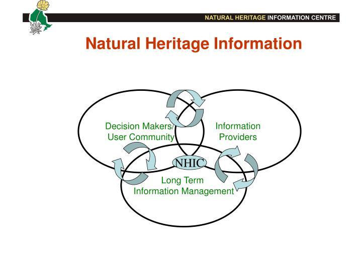 Natural Heritage Information
