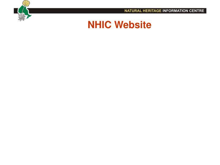 NHIC Website