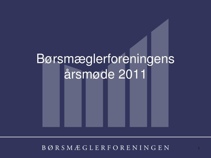 b rsm glerforeningens rsm de 2011