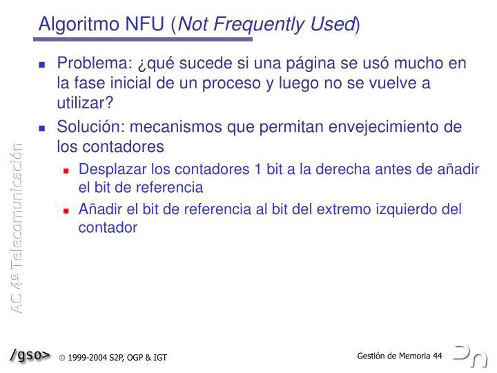 Algoritmo NFU (