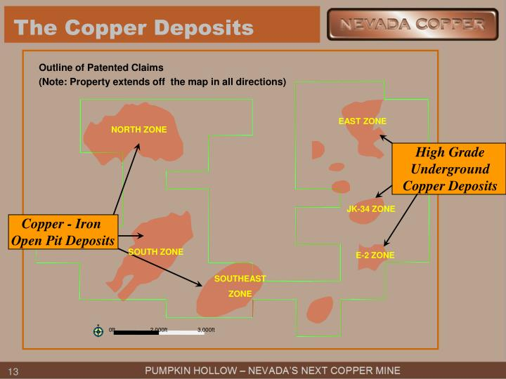 The Copper Deposits