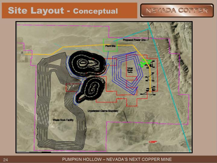 Site Layout -