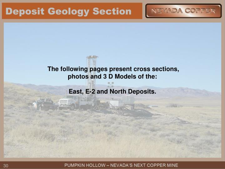 Deposit Geology Section