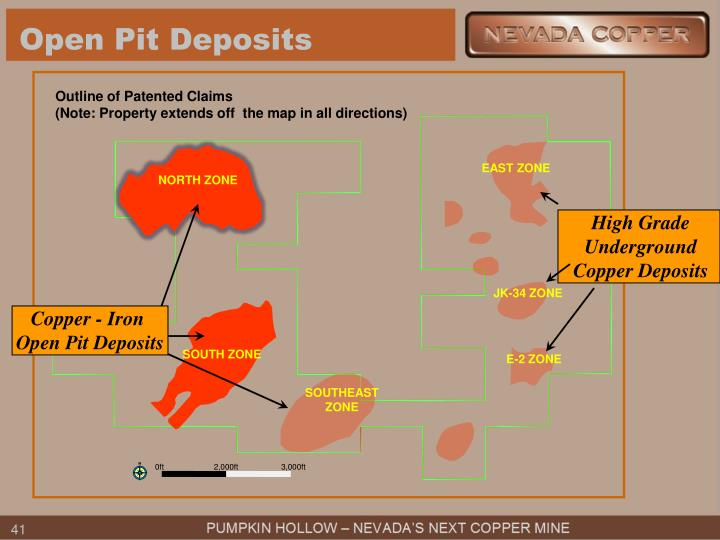 Open Pit Deposits
