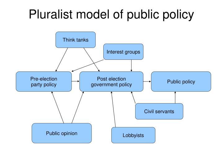 Pluralist model of public policy
