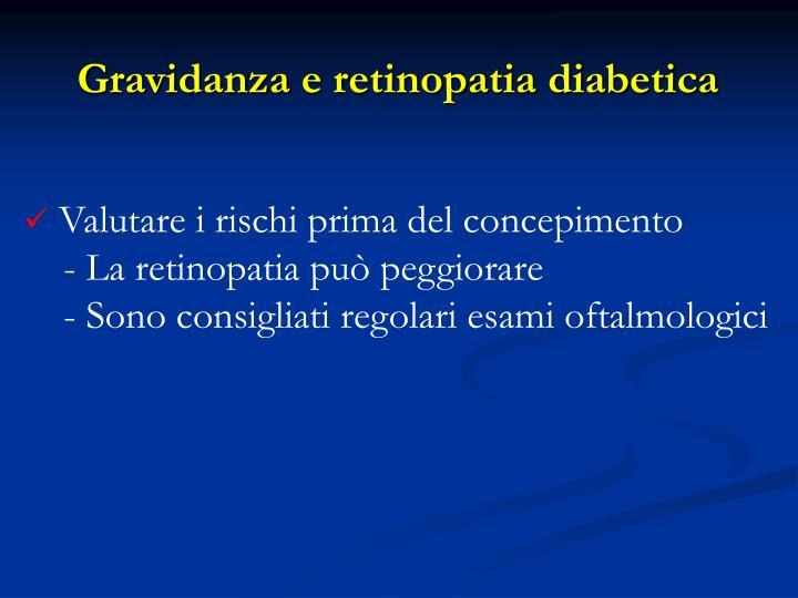 Gravidanza e retinopatia diabetica