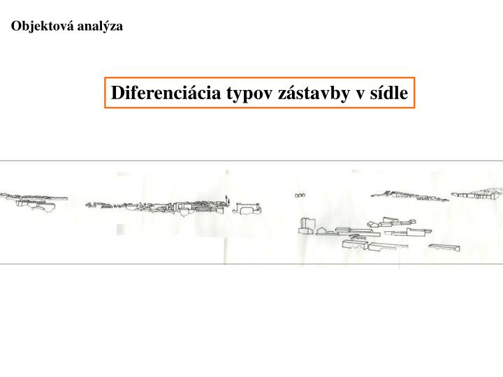 Objektová analýza
