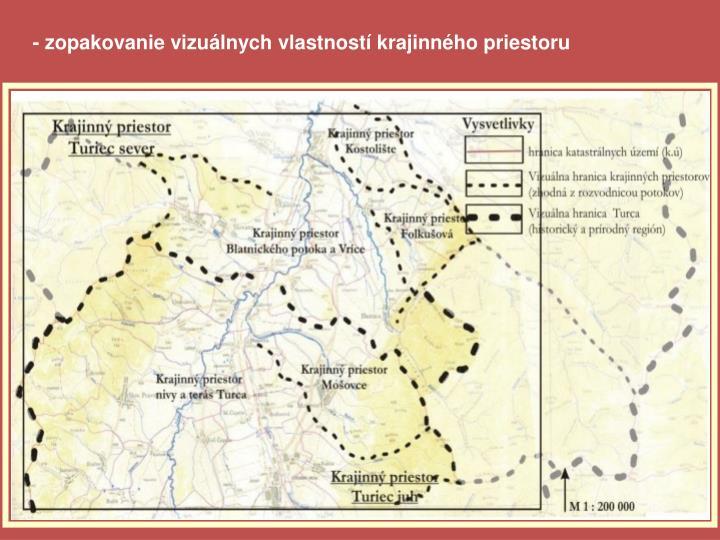 - zopakovanie vizuálnych vlastností krajinného priestoru