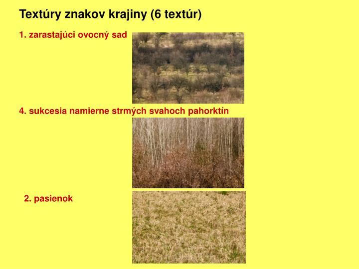 Textúry znakov krajiny (6 textúr)