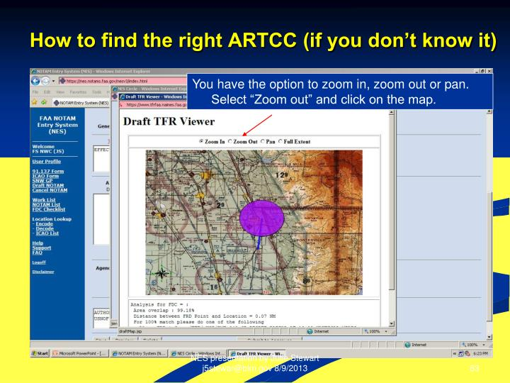 How to find the right ARTCC (if you don't know it)