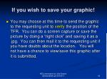 if you wish to save your graphic