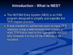 introduction what is nes