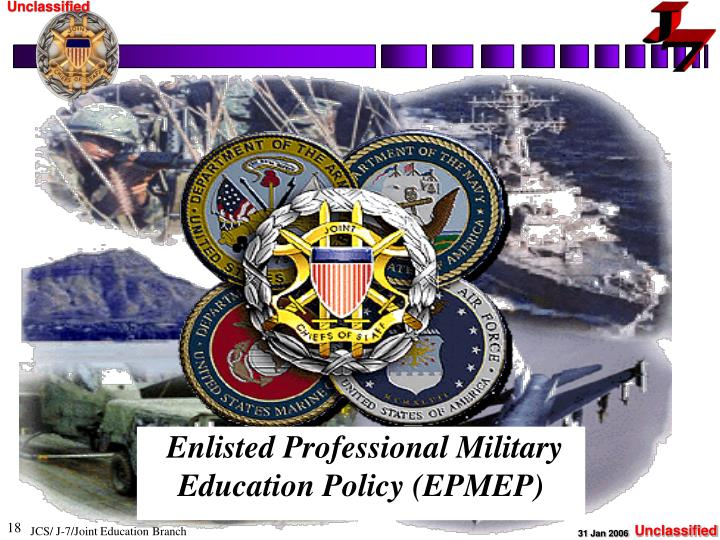 Enlisted Professional Military