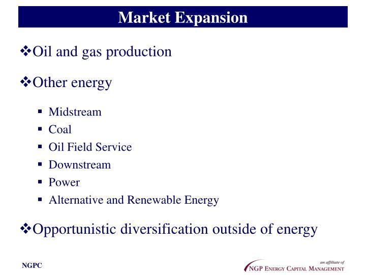 Market Expansion