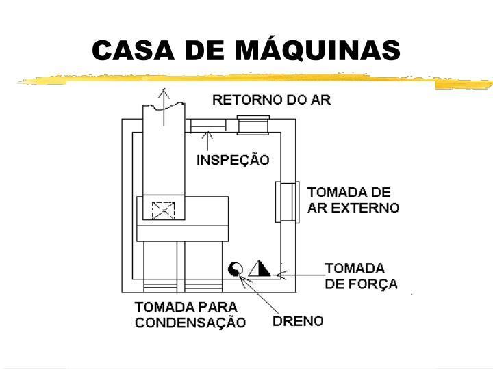 CASA DE MÁQUINAS
