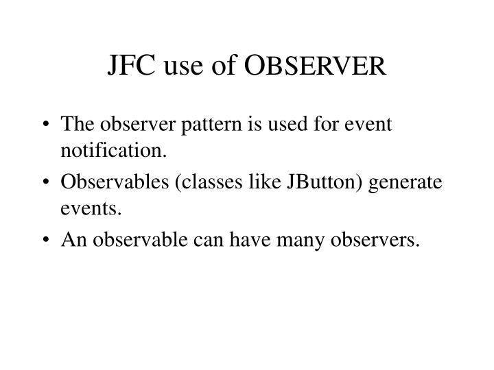 JFC use of O